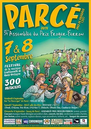 34e Assemblée Du Prix Froger Ferron — à Parcé.